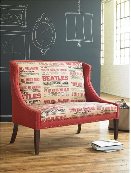 Eclectic Dining Chairs by BARBARA SCHAVER DESIGNS