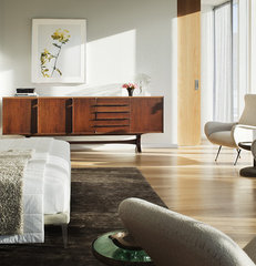 modern bedroom by Brad Ford ID