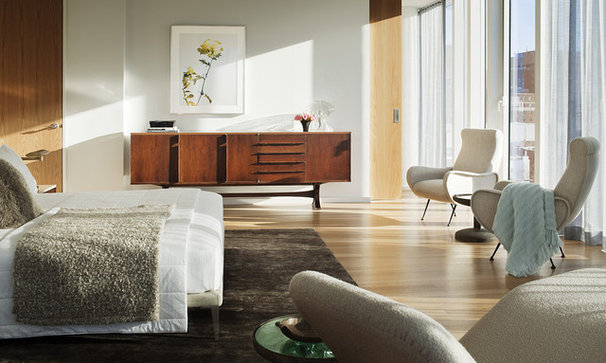 Midcentury Bedroom by Brad Ford ID