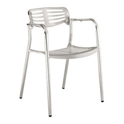 Ohio Indoor/Outdoor Aluminum Dining Chair