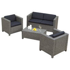 Contemporary Patio Furniture And Outdoor Furniture by Great Deal Furniture