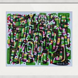 Kourosh Amini - Original Art Works By Kourosh Amini, Cool Man - Artist: Kourosh Amini
