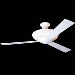 Modern Fan Company - Modern Fan Company | Aurora Hugger Ceiling Fan - Design by Ron Rezek.