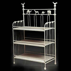 Corsican Iron Furniture - Animal Crackers Iron Changing Table - Animal Crackers Iron Changing Table