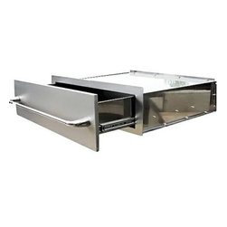 RCS Grills - RCS Grills 30in Stainless Storage Drawer - Renaissance Cooking Systems' (RCS) factory has been in the gas grill business for over 15 years.  They are an OEM supplier to many famous-brand names you already know. With their huge buying power of components and superior manufacturing capacity they are able to pass the savings and their manufacturing experience on to you - the consumer.  Every RON series grill is backed by a full lifetime warranty on the stainless cooking grids stainless housing and stainless burners. That's peace of mind. Usually the weak link in any gas grill is the ignition system. RCS ignition systems are the finest in the industry - period. Their stainless steel is premium grade 304 the finest you can buy. This high grade of stainless means you'll enjoy your Renaissance Cooking Systems grill doors drawers and accessories for many many years to come.