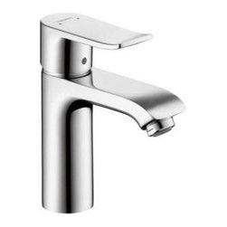 Hansgrohe Bathroom Faucet Collection - Solid brass faucet.  Offers 30% water savings.