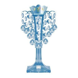Disney - Disney 11.5 in. Tinkerbell Blue LED Chandelier Lamp KK311342B - Shop for Lighting & Fans at The Home Depot. Create space fit for a princess with this Disney Tinkerbell Chandelier lamp. Princess graphics decorate the crown of the lamp, while multifaceted gems sparkle in the soft glow. Finish off your little girl's room with this Disney Tinkerbell Chandelier lamp.