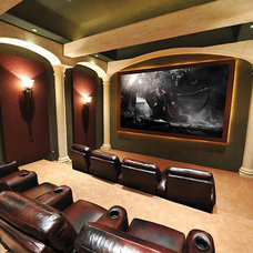 Traditional Home Theater by SoundVision