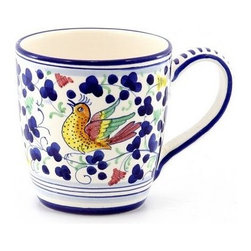 Artistica - Hand Made in Italy - Arabesco: Mug - Arabesco Collection: The Arabesco evokes Italian country charm and is one of the most popular patterns created in Deruta - Italy.