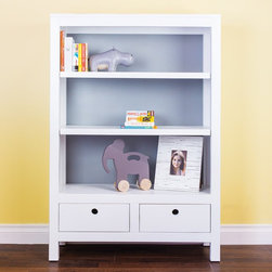 Newport Cottages Cody Bookcase - This bookcase is perfect for a child's room. It is offered in a variety of colors to coordinate with any color scheme.