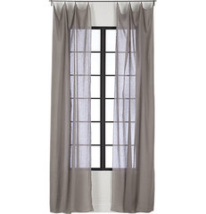 traditional curtains by CB2