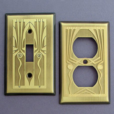 Modern Switch Plates And Outlet Covers by Kyle Designs