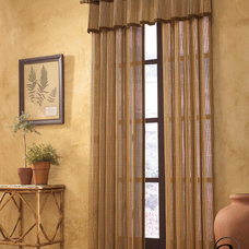Asian Curtains by Softline Home Fashions