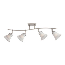 Quoizel - Quoizel DH1404AN Duchess 4 Light Track Lighting in Antique Nickel - This 4 light Ceiling Track Light from the Duchess collection by Quoizel will enhance your home with a perfect mix of form and function. The features include a Antique Nickel finish applied by experts. This item qualifies for free shipping!