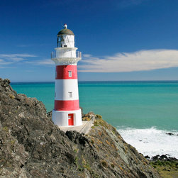 Murals Your Way - Cape Palliser Lighthouse Wall Art - Painted by David  Wall, the Cape Palliser Lighthouse wall mural from Murals Your Way will add a distinctive touch to any room
