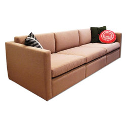 Knoll Pfister Natural Colored Sofa - Retail Price: $5724