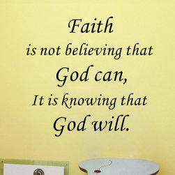 ColorfulHall Co., LTD - Wallpaper Murals Faith Is Not Believing That God Can - Wallpaper Murals Faith Is Not Believing That God Can