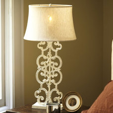 Eclectic Lamp Bases by Pottery Barn
