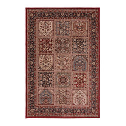 American Rug Craftsmen - Dryden Garden Wall Latte Rectangular: 5 Ft. 3 In. x 7 Ft. 10 In. Rug - - Our Dryden Collection is the ultimate combination of style, comfort and durability. This collection impresses those who demand fashionable style with patterns including: tribal kilims, modern ikats, and Moroccan tile patterns. Made from our softest and most talked about fiber, SmartStrand, this collection is carefully crafted using 2-ply space dyed yarns, providing 24 shades of color. Every new SmartStrand area rug comes with a lifetime stain and soil warranty. Manufactured entirely in the United States, American Rug Craftsmen?s woven area and accent rugs are beautiful additions to any room in your home  - Stain and fade resistant  - Latex Backing  - Indoor use  - Pile Height: 0.39  - Construction: Woven  - Cleaning and Care: Area rugs should be spot cleaned with a solution of mild detergent and water or cleaned professionally. Regular vacuuming helps rugs remain attractive and serviceable American Rug Craftsmen - 9327 10020 063094