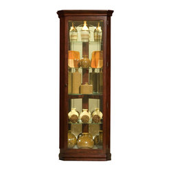 Pulaski Furniture - Corner Curio by Pulaski Furniture - Corner Curio by Pulaski Furniture Fill ...