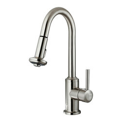 VIGO Industries - VIGO Stainless Steel Pull-Out Spray Kitchen Faucet - You deserve a high-performing kitchen - why not start with a VIGO faucet for your sink?