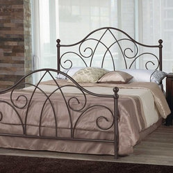 Online shopping for furniture decor and home for Wrought iron four poster bed frames