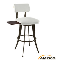 Amisco Oscar Swivel Stool with Tray - Amisco Oscar Swivel Stool with Tray - minimum order of 2 pieces
