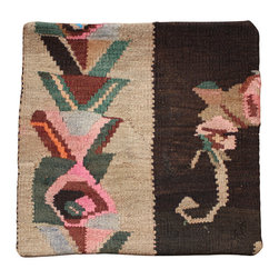 Hand Woven - Kilim Pillow Cover - Hand Woven Kilim pillow cover