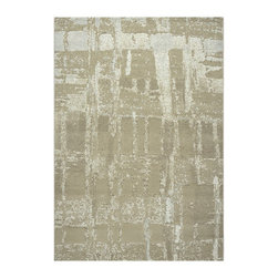 Dynamic Rugs - Mysterio Rectangle Beige Area Rug - The Mysterio area rug Collection offers an affordable assortment of Contemporary stylings. Mysterio features a blend of natural Silver color. Machine Made of 100% Polypropylene the Mysterio Collection is an intriguing compliment to any decor.
