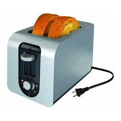 BLACK & DECKER - B&D TR3340S STAINLESS TOASTER OVEN 2 SLICE 800 WATTS ONE -