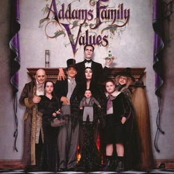 Addams Family Values 11 x 17 Movie Poster - Style B - Addams Family Values 11 x 17 Movie Poster - Style B Anjelica Huston, Raul Julia, Christopher Lloyd, Joan Cusack, Carol Kane, Christina Ricci, Jimmy Workman, Kaitlyn Hooper, Kristen Hooper, Carel Struycken, David Krumholtz, Christopher Hunt, Dana Ivey, Peter MacNicol, Christine Baranski, Mercedes McNab. Directed By: Barry Sonnenfeld. Producer: Scott Rudin, David Nicksay, Paramount Pictures.