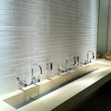 Contemporary Bathroom Sinks by Concreteworks