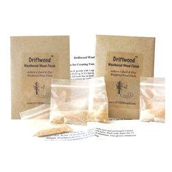 Driftwood - Driftwood Weathered Wood Finish 2-Pak - *  Creates a beautiful Driftwood Finish on bare, unfinished wood in 15 minutes