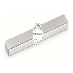 Schwinn Hardware - Schwinn Hardware Bar Pull, 5 Inch Ctc Satin Nickel Performance Finish - Schwinn Hardware Bar Pull, 5 Inch Ctc Satin Nickel Performance Finish