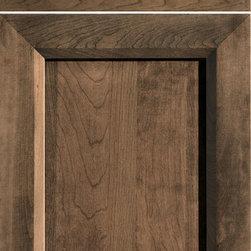 """Dura Supreme Cabinetry - Dura Supreme Cabinetry Lynden Cabinet Door Style - Dura Supreme Cabinetry """"Lynden"""" cabinet door style shown in Cherry with  in Dura Supreme's """"Morel"""" finish."""