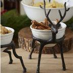 Reindeer Bowl Holder -