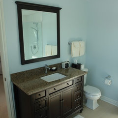 traditional bathroom by Dan Lavigne