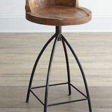 eclectic bar stools and counter stools by Horchow