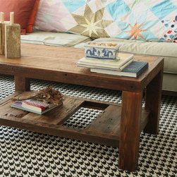 Rustic Modern Coffee Table -