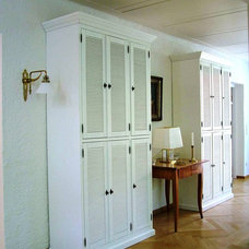 Traditional Storage Units And Cabinets by Handwerk Interiors