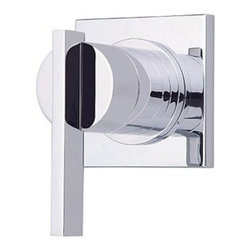 """Danze - Danze® Sirius™ Single Handle 3/4"""" Volume Control Valve Trim Kit - Chrome - Bathroom or art gallery? The Sirius™ Collection blurs the line between form and function and will have your friends and guests marvelling at your distinctive taste. When used in conjunction with the required volume control valve, this trim kit functions as an on/off and volume control to a single outlet. Does NOT control water temperature. If temperature control is needed, please add a thermostatic trim kit and valve. Available in multiple finishes. Features Volume control and shut off valve ADA Compliant Manufacturer's limited """"lifetime"""" warranty REQUIRES volume control valve D135300BT View Spec Sheet"""