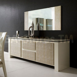 Diamond Buffet in Ivory -