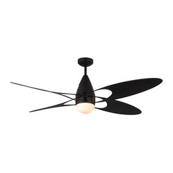 "Monte Carlo Fan - Monte Carlo Fan Butterfly 54"" Modern / Contemporary Ceiling Fan X-DKB45RFB4 - Monte Carlo Fan Butterfly 54"" Modern / Contemporary Ceiling Fan X-DKB45RFB4"