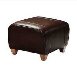 """Manhattan Ottoman, Leather Whiskey - With its signature blend of quality, value and style, our Manhattan Ottoman is a Pottery Barn classic. It pairs perfectly with our Manhattan Leather Club Chair. 24"""" w x 20"""" d x 16"""" h {{link path='pages/popups/PB-FG-Manhattan-3.html' class='popup' width='720' height='800'}}View the dimension diagram for more information{{/link}}. {{link path='pages/popups/PB-FG-Manhattan-4.html' class='popup' width='720' height='800'}}The fit & measuring guide should be read prior to placing your order{{/link}}. Ottoman has a polyester-wrapped cushion. Proudly made in America, {{link path='/stylehouse/videos/videos/pbq_v36_rel.html?cm_sp=Video_PIP-_-PBQUALITY-_-SUTTER_STREET' class='popup' width='950' height='300'}}view video{{/link}}. For shipping and return information, click on the shipping info tab. When making your selection, see the Quick Ship and Special Order leathers below."""