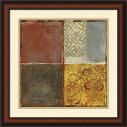 Amanti Art - Pattern Luck II Framed Print by Jennifer Hollack - Energize your wall with this mix of pattern and color by artist Jennifer Hollack.