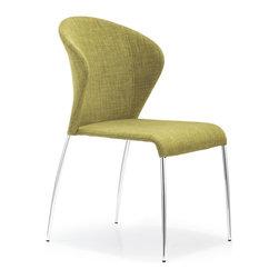 Zuo Modern - Zuo Modern Oulu Side Chair Pea Fabric [Set of 2] - Side Chair Pea Fabric belongs to Oulu Collection by Zuo Modern Side Chair (2)