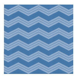 Guildery - Chevron Shorty Fabric: Bridge Reverse Boxer - Fabric by the yard for your custom sewing or upholstery projects. Fabric is sold in full-yard increments.