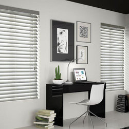 "Architectural 2 3/4"" Wood Blind. Free Samples and Shipping! - Architectural 2 3/4"" Wood Blind - Buy with Confidence, Get Free Samples Today!Select 2 3/4"" Architectural Wood Blinds from Blinds.com to find the perfect designer-quality blinds for  your windows. The unique, larger slat size creates a clearer view to the outside, yet provides great light  control. These blinds are made from Africa"
