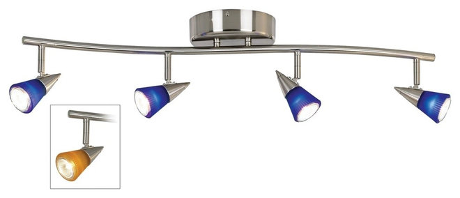 Contemporary Track Lighting by Lamps Plus