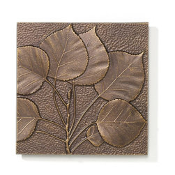 Whitehall - Aspen Leaf Wall Decor Multicolor - 10244 - Shop for Wall Decor from Hayneedle.com! The Aspen Leaf Wall Decor - Antique Copper enhances the ambience of your living room. This decorative wall accessory depicts aspen leaf patterns against a textured background. It's hand-crafted from recycled aluminum which makes it a green alternative for your home. Apart from this its rust-resistant finish makes it highly durable and sturdy. You can hang this made-in-the-USA piece of wall art in your living room bedroom or family room.About WhitehallRenowned as the world's largest manufacturer of weathervanes Whitehall Products is also recognized for its extensive line of personalized home address plaques mailboxes and garden accents such as hose holders birdbaths birdfeeders and sundials. Whitehall's home accent collection includes unique indoor/outdoor clocks thermometers and personalized doormats. Behind the legend of Whitehall artistry lies the tale of a unique craft inspired by the majestic shores and woodlands of western Michigan. It was one master wood-carver's desire to reproduce and preserve his hand-carved wood sculpture in metal depicting the grace and essence of America's natural beauty. Over 65 years later Whitehall Products still offers you the same mastery in detail with each originally designed carved and hand-cast product.